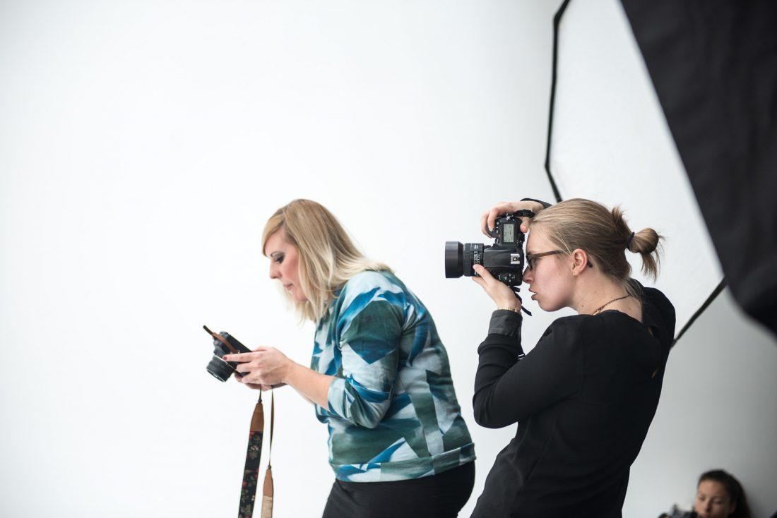 Fotografinnen Nachmittag mit Fotografin Susann Jehnichen und Bloggerin Anne-Katrin Hutschenreuter von annabel-sagt.de Studio Leipzig