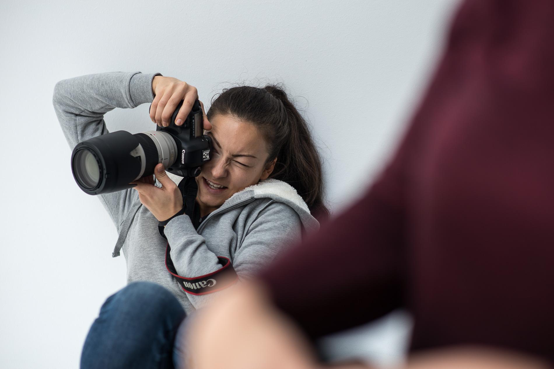 Fotografinnen Nachmittag mit Fotografin Mona Lutz im Studio Leipzig